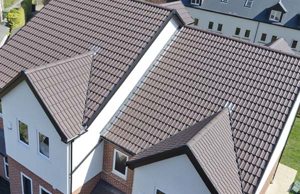 Double Roman Interlocking Tile New Marley Roofs